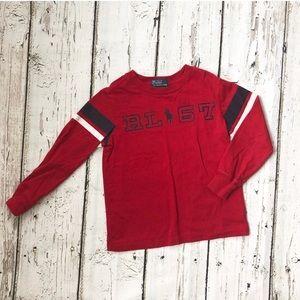 Polo Ralph Lauren 4T Long Sleeve Red T-shirt